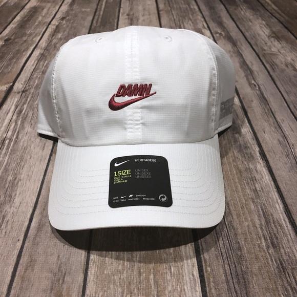 6db8bfb3dfb4 Nike X Kendrick Lamar Limited Edition DAMN Hat